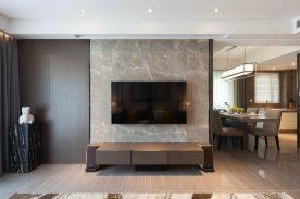 六安混搭风格三居室装修效果图