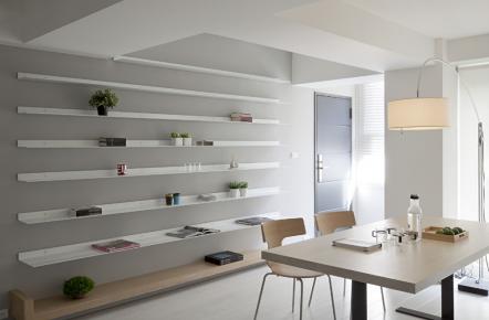 六安現代風格兩居室裝修效果圖