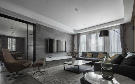 重慶100㎡現代簡約三居室裝修效果圖