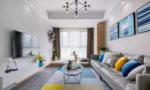 成都欧式风格两居室装修效果图