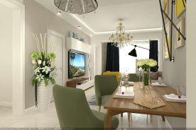 烟台现代风格四居室装修效果图