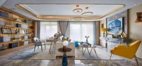 重慶80㎡現代簡約三居室裝修效果圖