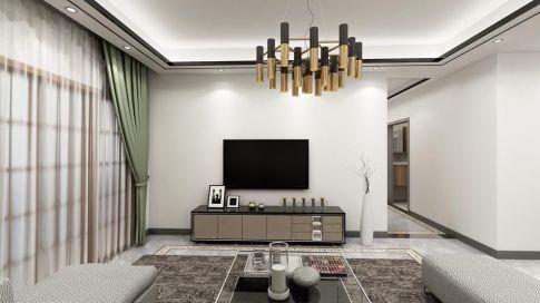 惠州現代簡約風三居室裝修效果圖
