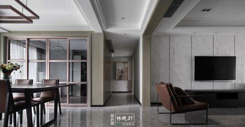 杭州現代風格三居室裝修效果圖