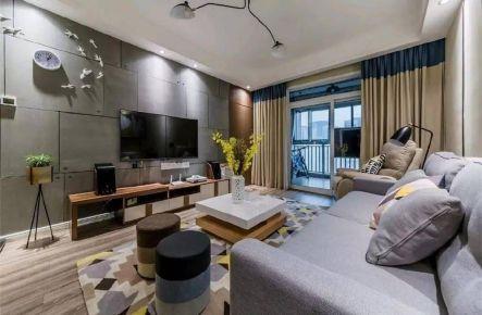 重慶97㎡現代簡約三居室裝修效果圖
