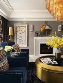 六安振興共和城120平現代簡約風三居室裝修,喜歡玄關的六邊磚設計