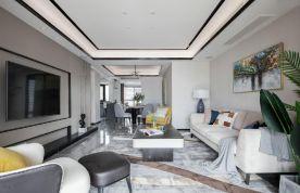 现代风格三居室设计效果图
