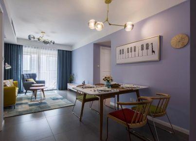 六安碧桂园125平奢华欧式二居室装修效果图