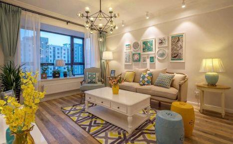 武漢保利新城現代簡約風格三居室裝修案例,精致細節出華彩!