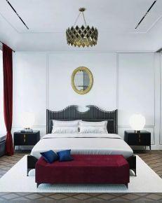 扬州122㎡简约三居室装修案例,文艺与情调并存