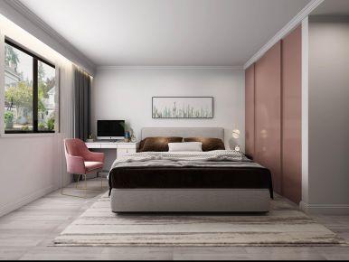扬州现代轻奢三居室装修效果图