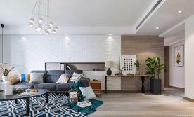 珠海混搭风格三居室装修效果图