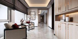 扬州中式风格三居室装修效果图
