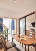 福州86㎡北歐兩居室裝修效果圖
