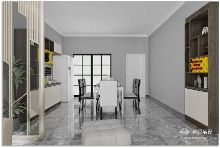 湘潭简约风格四居室装修效果图