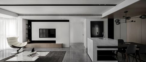 常州简约风格三居室装修效果图