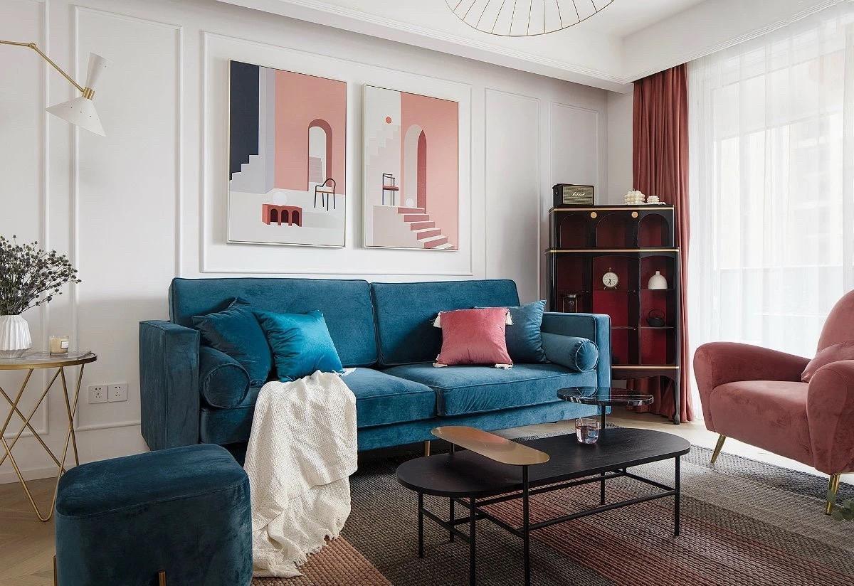 常州歐式風格三居室裝修效果圖