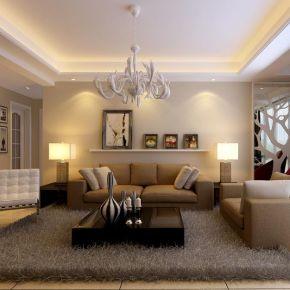 南昌欧式风格三居室装修效果图