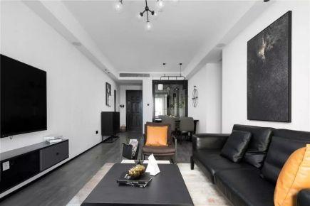 福州110㎡现代主义3室2厅装修效果图