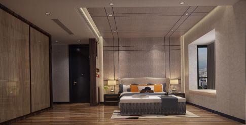 泉州现代风格三居室装修效果图