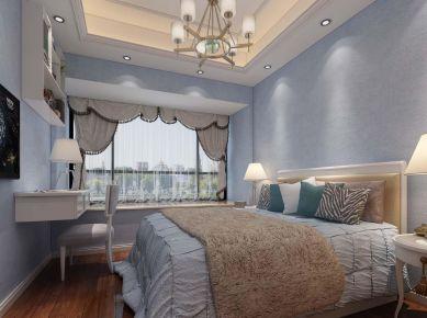泉州欧式风格三居室装修效果图