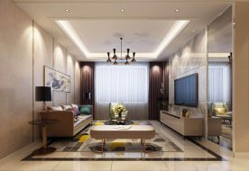 大連聚美東灣現代風二居室裝修,滿滿的格調感!