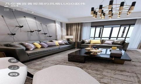 ?#21916;?#20961;尔赛宫现代简约风格三居室装修,简单,实用,温馨!