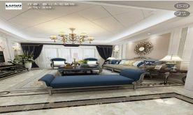 南昌新建城欧式别墅装修案例,真正的豪宅设计
