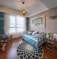 福州阳光凡尔赛宫现代欧式三居室装修,清新素雅有品位