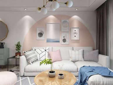 天津欧式风格三居室装修效果图