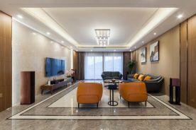 厦门现代简约四居室装修效果图