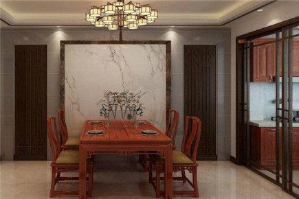 西宁中式装修两居室效果图
