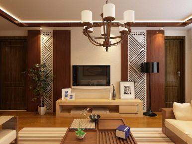 西宁现代风格两居室装修效果图