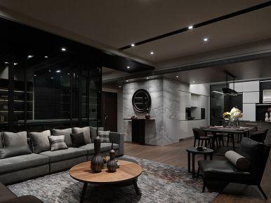 西宁现代风格两居室装修图