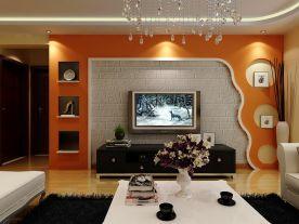 西宁简约风格两居室装修图