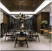 东莞现代家居中心现代极简店铺装修案例