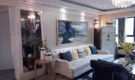 北京理想湾创意混搭三居室装修案例,让家与众不同!