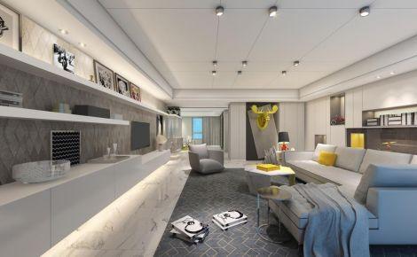 北京阳光上东二居室创意混搭装修案例
