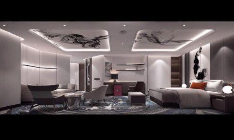 重庆酒店创意混搭装修设计效果图