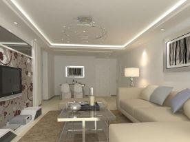 西宁世通国际简约风格两居室装修案例