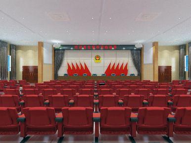 西宁海峰小区会议室装修效果图赏析 会议室装修技巧