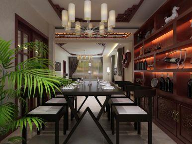 西宁景岳公寓新中式风格二居室装修,古典与现代的碰撞!