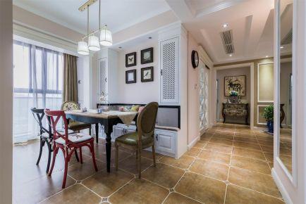福州建发领第澜月湾110㎡美式三居室装修案例