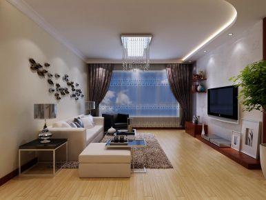 西宁新中式二居室装修案例,质朴和纯真的结合!