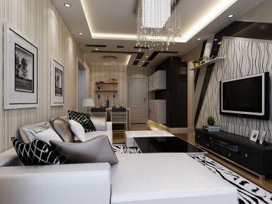 西宁宁瑞水乡简约风格两居室装修案例