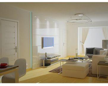 西宁民惠小区简约风格两居室装修效果图