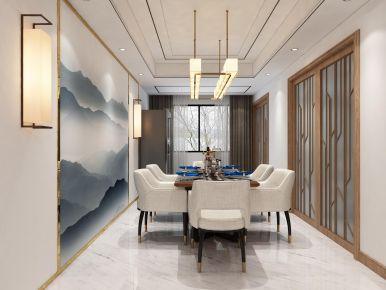 厦门国贸金门湾地中海风格三居室装修效果图