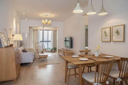 福州泰禾红峪北欧三居室装修,给你营造舒适之家