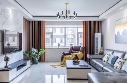 福州泰禾红誉230㎡现代轻奢风格别墅装修案例