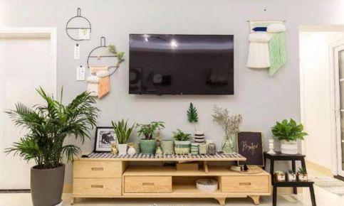 杭州擎天半岛110平三居室装修设计 各式混搭打造温馨家居